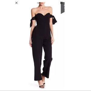 Romeo & Juliet Couture Off the Shoulder Jumpsuit